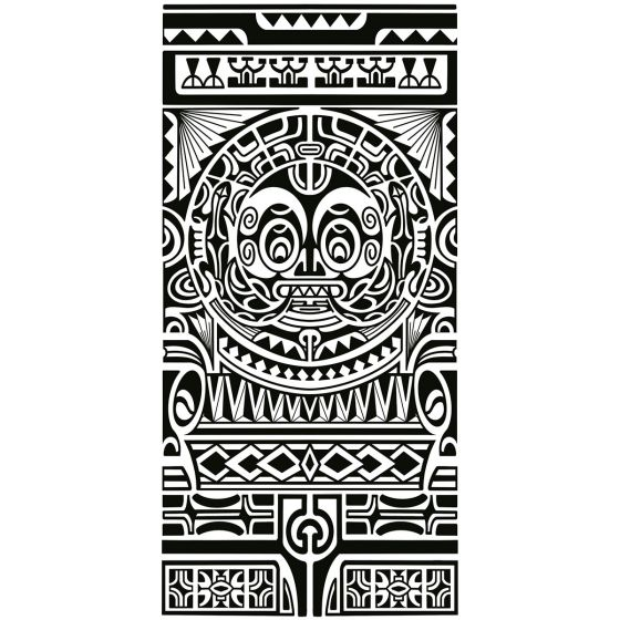 Tatouage éphémère avant-bras Maori #1