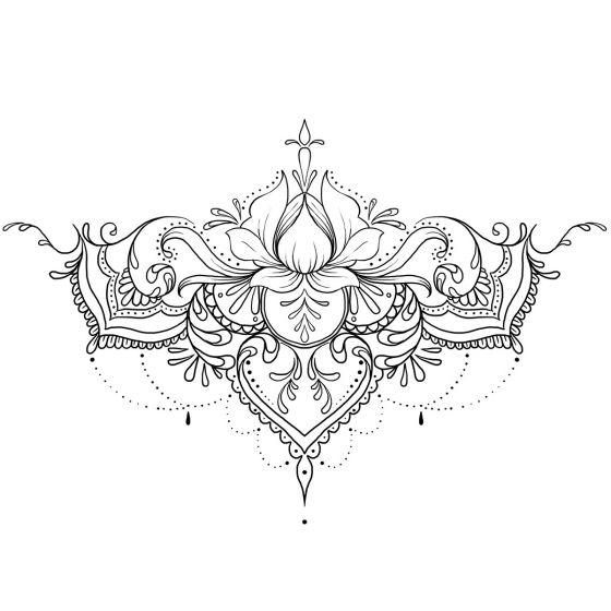 Tatouage éphémère ornemental #2